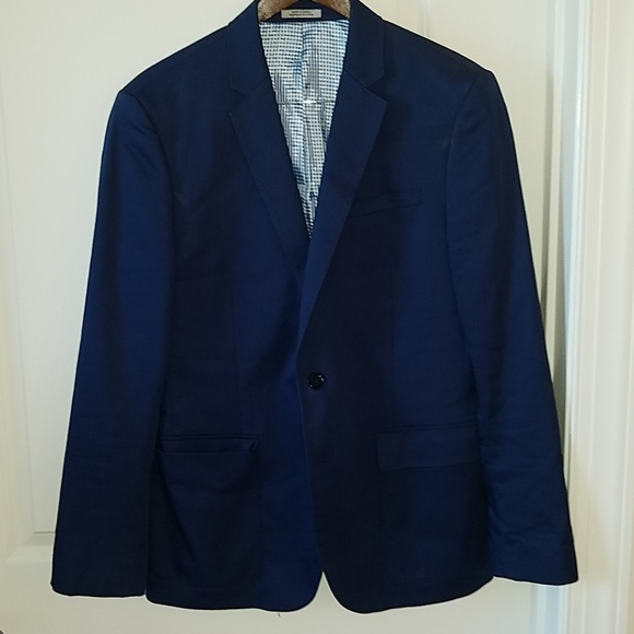 09f6ad8c15d Express Other - Express Men s Navy Sport Coat Jacket 40 Regular
